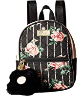 Luv Betsey - Sasha Cotton Front Mini Backpack