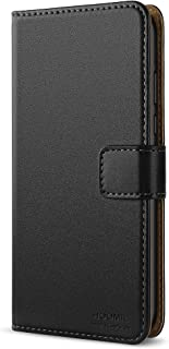 HOOMIL Leather Flip Wallet Phone Case Cover for Huawei Honor 8X - Black