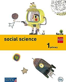 Social science. 1 Primary. Savia - 9788416346080