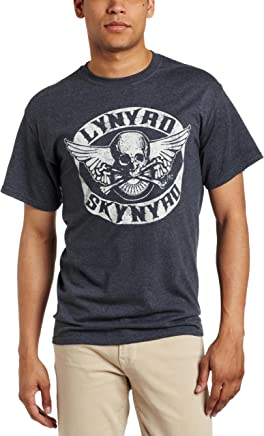 FEA Merchandising Men's Lynyrd Skynyrd Biker Patch T-Shirt