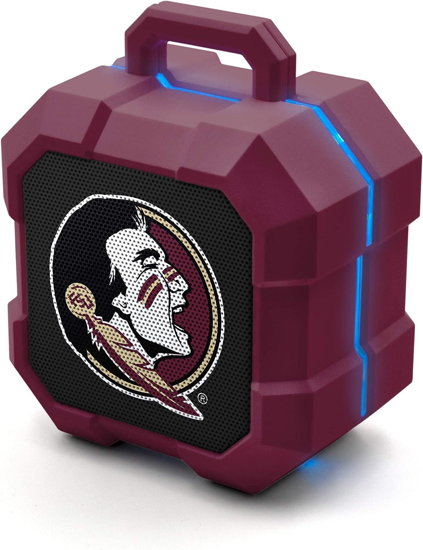 NCAA Florida State Seminoles Shockbox Wireless LED Spe Bluetooth Max 56% OFF Bargain sale