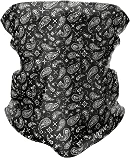 MAKSIM ROGER Neck Gaiter Face Mask, Washable Reusable Face Cover (Paisley Pattern)