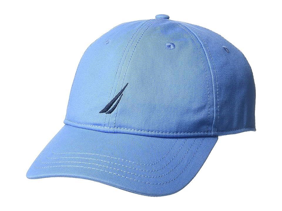 Nautica J Class 6 Panel Baseball Cap (Cornflower Blue) Baseball Caps