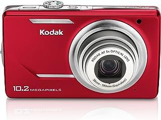 Kodak M380 Easyshare Digitalkamera (10 Megapixel, 5 Fach Opt. Zoom, 7,6 cm (3 Zoll) Display) rot