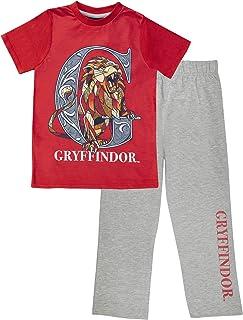Harry Potter Gryffindor Men's Long Pyjamas Set   Official Merchandise   Gift Idea For Him Husband Boyfriend Partner, Night...