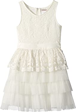 Nanette Lepore Kids - Lace Organza Dress (Little Kids/Big Kids)