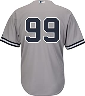 6d9ec28af Aaron Judge New York Yankees Road Gray Cool Base Men s Jersey (Number ...