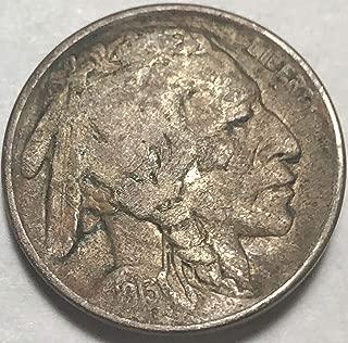 1913 P Buffalo Nickel (KEY DATE RARE) TYPE I Nickel Good