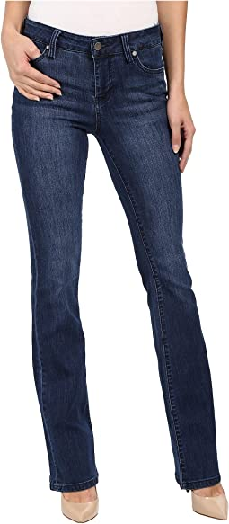 Liverpool - Lucy Bootcut Jeans in Montauk Mid Blue