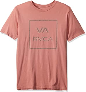 RVCA Men's Unregistered Short Sleeve Crew Neck T-Shirt