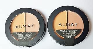 2 Pack- Almay Smart Shade Cc Concealer + Brightener #200 Light/Medium