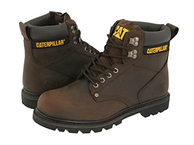 Caterpillar 2nd Shift (Dark Brown Leather) Men