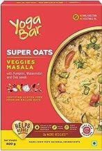 Yogabar Veggie Masala Flavour Premium Rolled Super Oats- 400gm