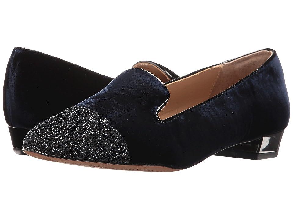 31f940661db576 Isola Coventry (Marine Letiza Velvet) Women s Flat Shoes