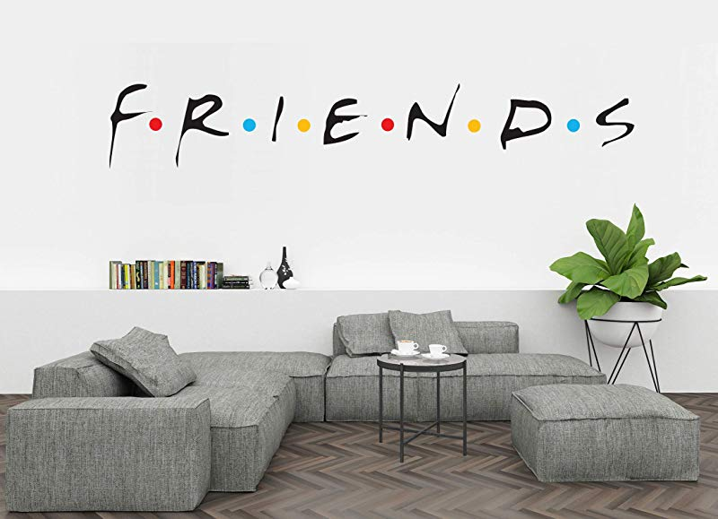 Ottosdecal Comedy TV Show Logo Quote Wall Decal Vinyl Sticker For Home Interior Decoration 50 X 8