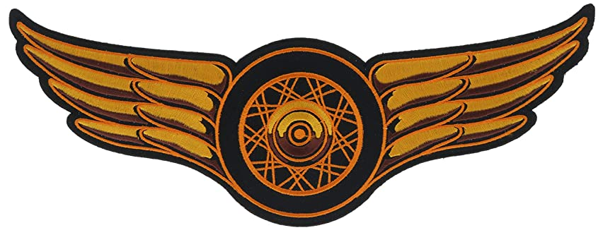 Classic Spoked Wheel and Wings 11