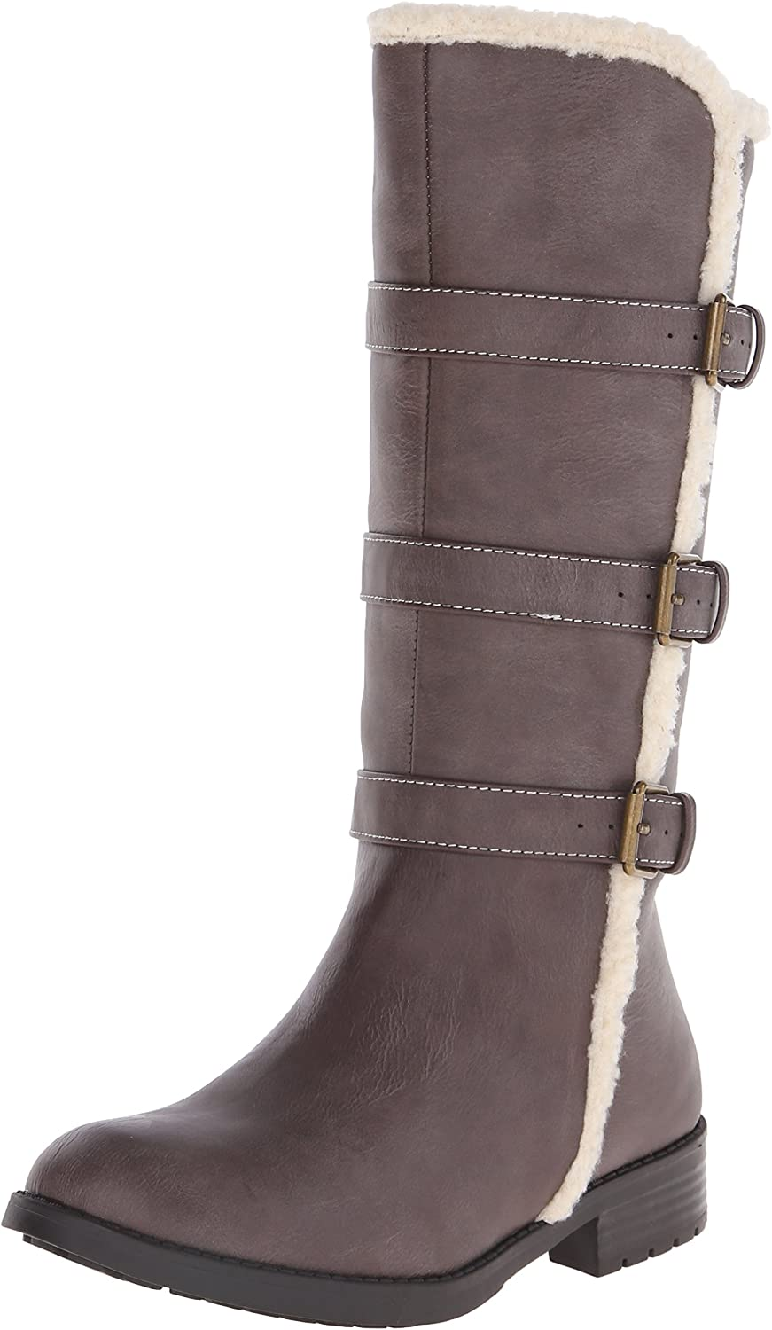 Kenneth Cole REACTION Elegant BA Faux-Shearling Outlet sale feature Big Boot Kid Little