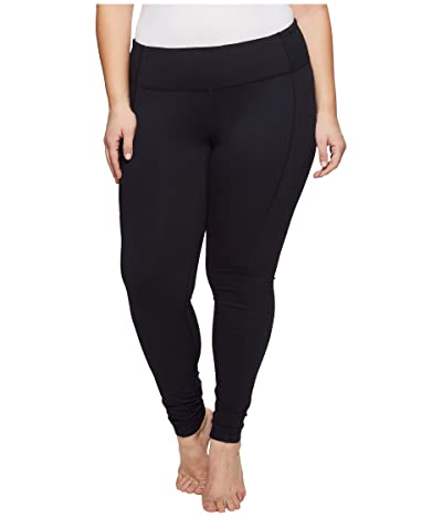 Columbia Plus Size Luminary Leggings (Black) Women