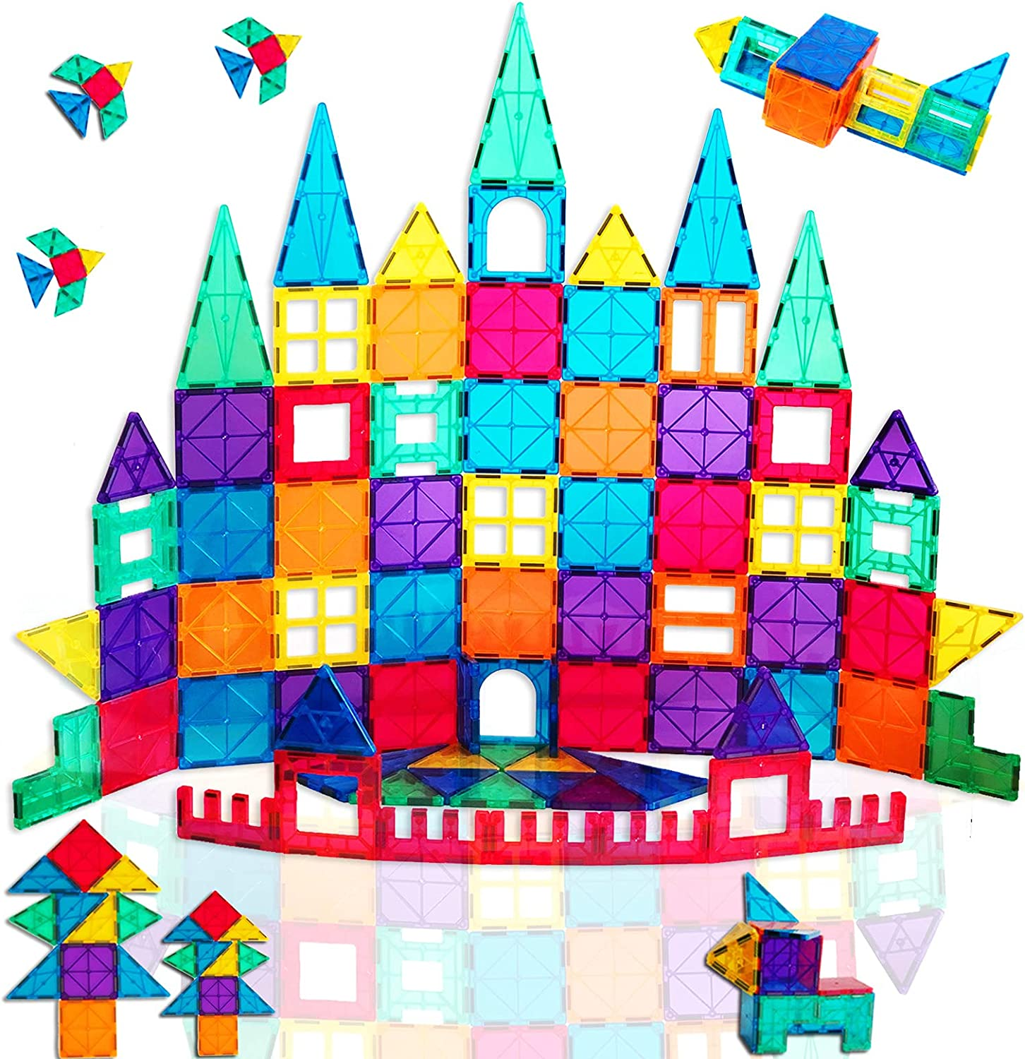 TalentGifts 78PCS Magnetic Tiles; Building Cognitive Toys; Finally popular brand Magne SEAL limited product