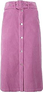 MSGM Luxury Fashion Donna 2942MDD141T20798212 Rosa Cotone Gonna | Autunno-Inverno 20