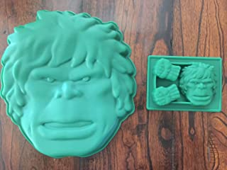 Hulk the Avengers Cake Pan Silicone Candy Mold Chocolate Set