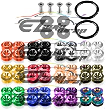 EZAUTOWRAP Red Bumper Quick Release Fasteners for Car Bumpers Trunk Fender Hatch Lids Kit