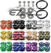 EZAUTOWRAP Purple Bumper Quick Release Fasteners for Car Bumpers Trunk Fender Hatch Lids Kit