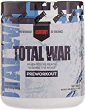 Redcon1 Total War - Pre Workout, 30 Servings, Boost Energy, Increase Endurance and Focus, Beta-Alanine, Caffeine (White Walker)
