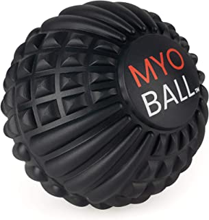 MYO Ball by Uplimit | EVA Foam Massage Ball for Myofascial Tissue, Chronic Pain Relief, Deep Tissue Massage, Pressure Point Therapy | DIY Massage Roller