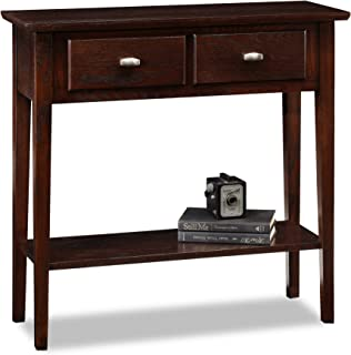 Leick Chocolate Hall Console/Sofa Table