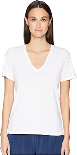 Short Sleeve Core V-Neck Tee