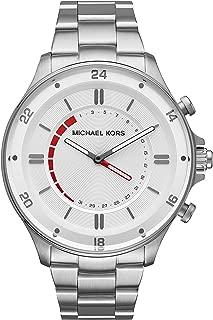Men's Silvertone Reid Hybrid Watch