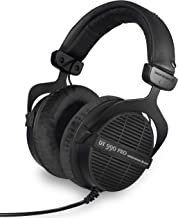 beyerdynamic DT 990 PRO Over-Ear Studio Monitor Headphones - Open-Back Stereo Construction, Wired (80 Ohm, Black (Limited ...