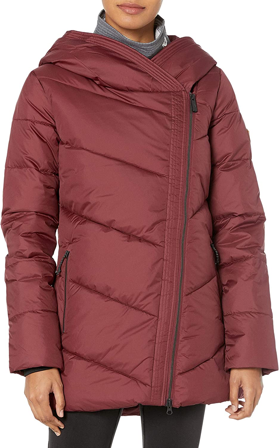 Max 55% OFF Volcom Women's Structure Down Jacket Oklahoma City Mall Snow