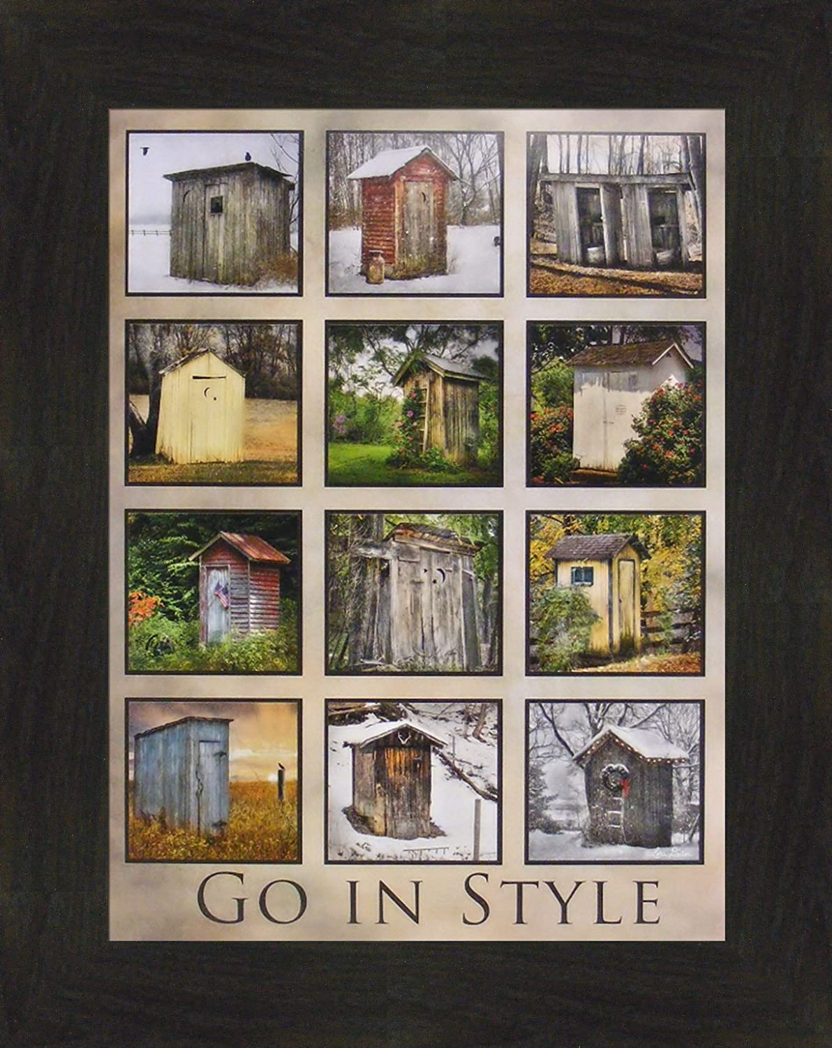 Go in Style by Lori Deiter Free shipping on posting reviews Photo New mail order 16x20 Collage Bathroom Outhouse
