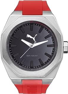 Puma Watch For Men - Analog, Plastic Strap - Pu104051006,