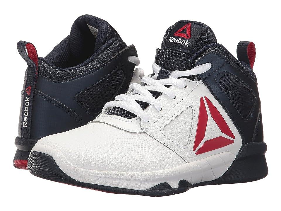 Reebok Kids Royal Dash N Drill (Little Kid/Big Kid) (Collegiate Navy/Excellent Red) Boys Shoes