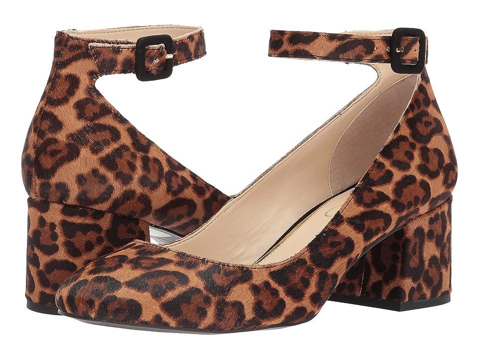 Jessica Simpson Mayven 2 (Natural Alicia Leopard Haircalf) High Heels