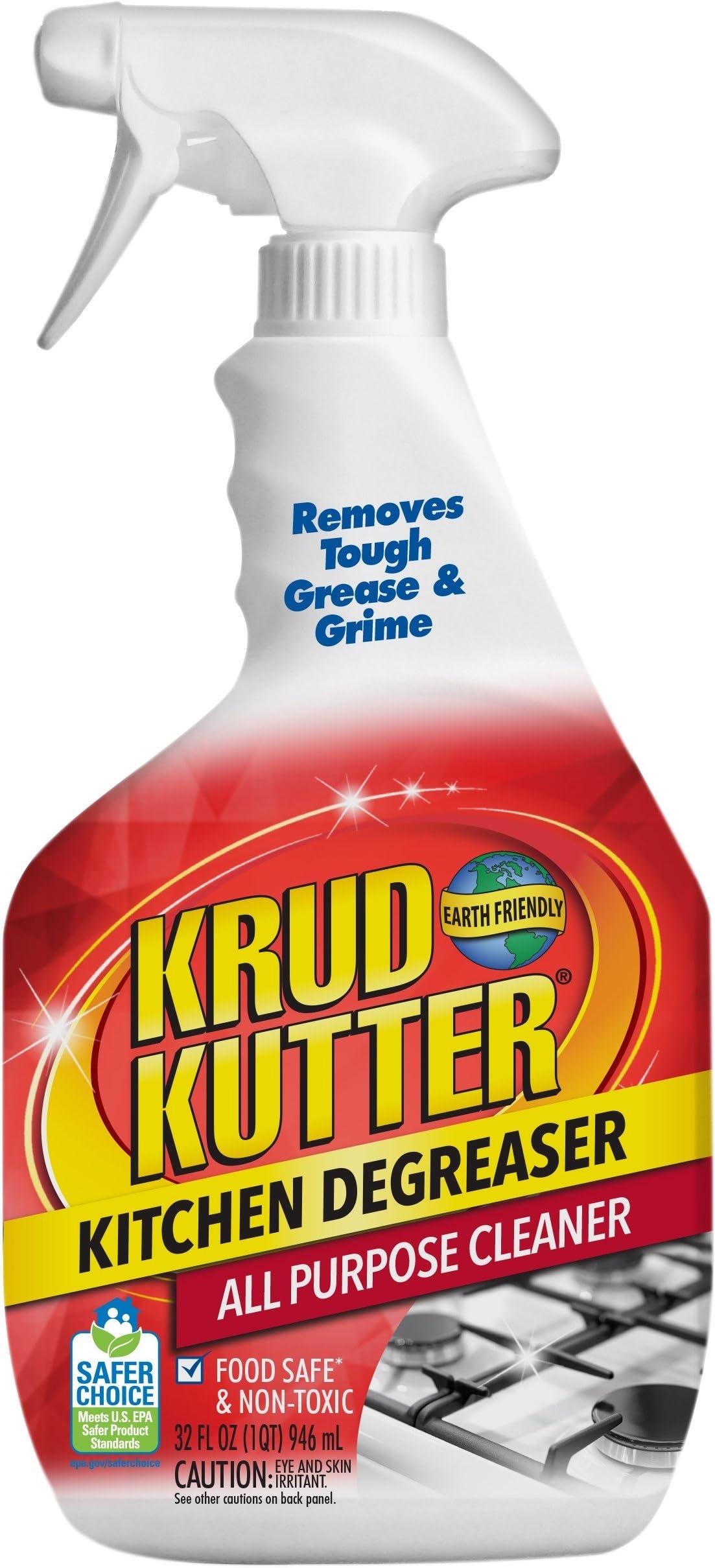 Krud Kutter 305373 Kitchen Degreaser All-Purpose Cleaner, 32 oz (Тhrее Расk)