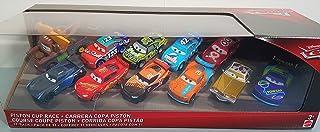 Disney Cars Piston Cup Race 11 Cars 1:55 Scale McQueen,Tex , Tim Treadless, Dirkson D'agostino, Jackson,Ryan Inside Laney,...