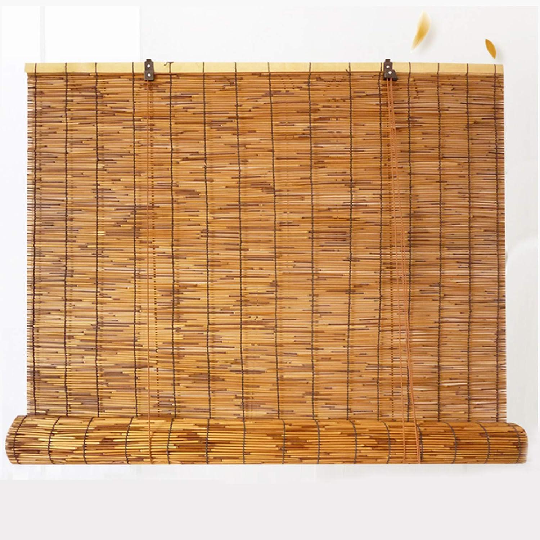 舗 NIANXINN Bamboo Roller 感謝価格 Blinds - Curtain Reed Natural Curtains