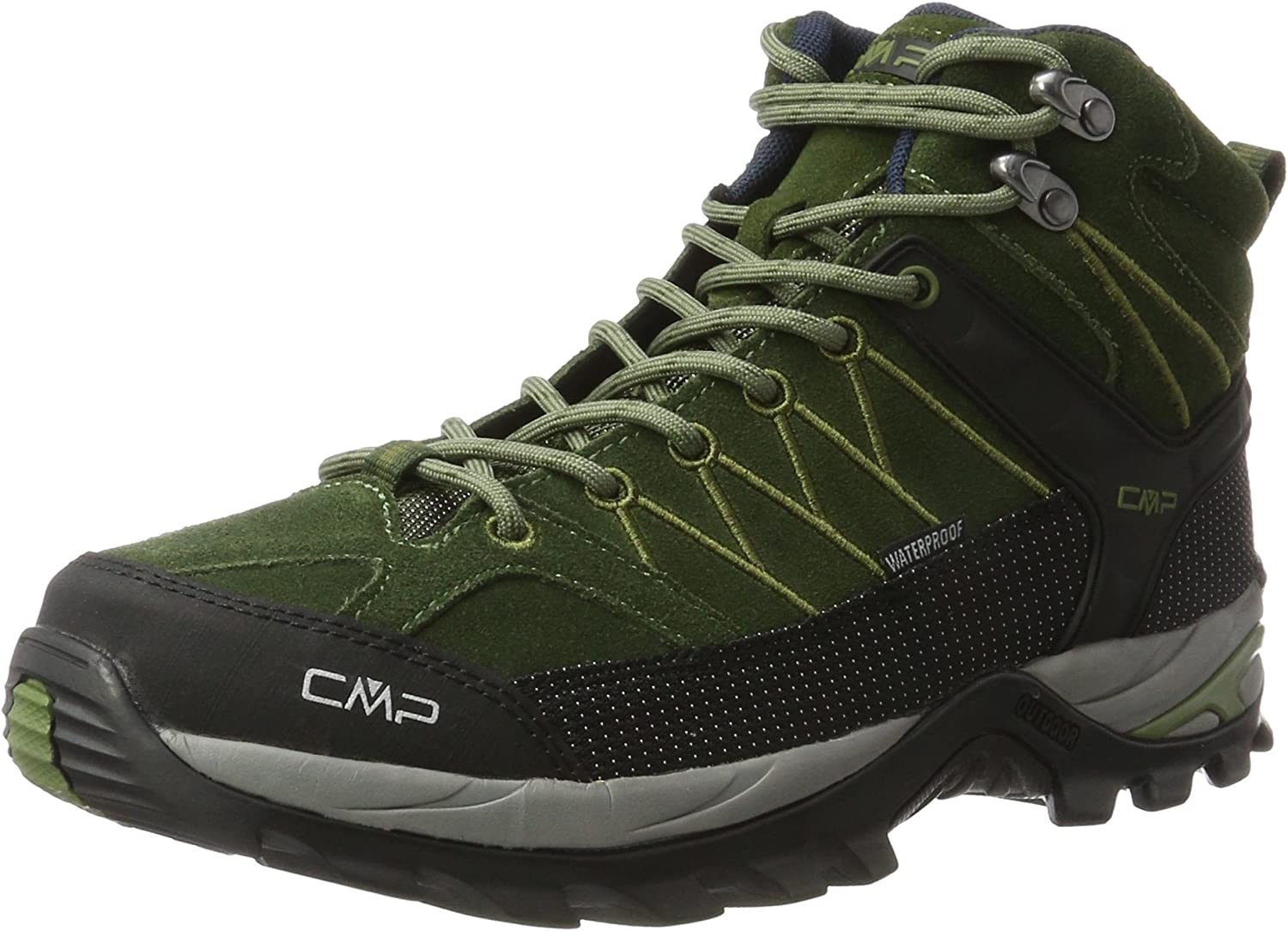 CMP Campagnolo Men's's Rigel Mid Wp High Rise Hiking shoes