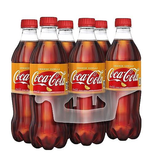 Coca-Cola Coke Orange Vanilla Soda, 16.9 fl oz, 6 Pack