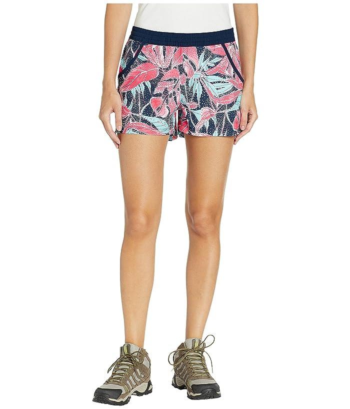 Columbia Tidal Shorts (Collegiate Navy/Dotty Palms) Women