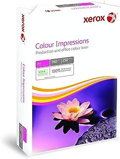 Xerox Colour Impressions - Papier de qualité supérieure Blanc 160 g/m² A4 - Ramette de 250 feuilles