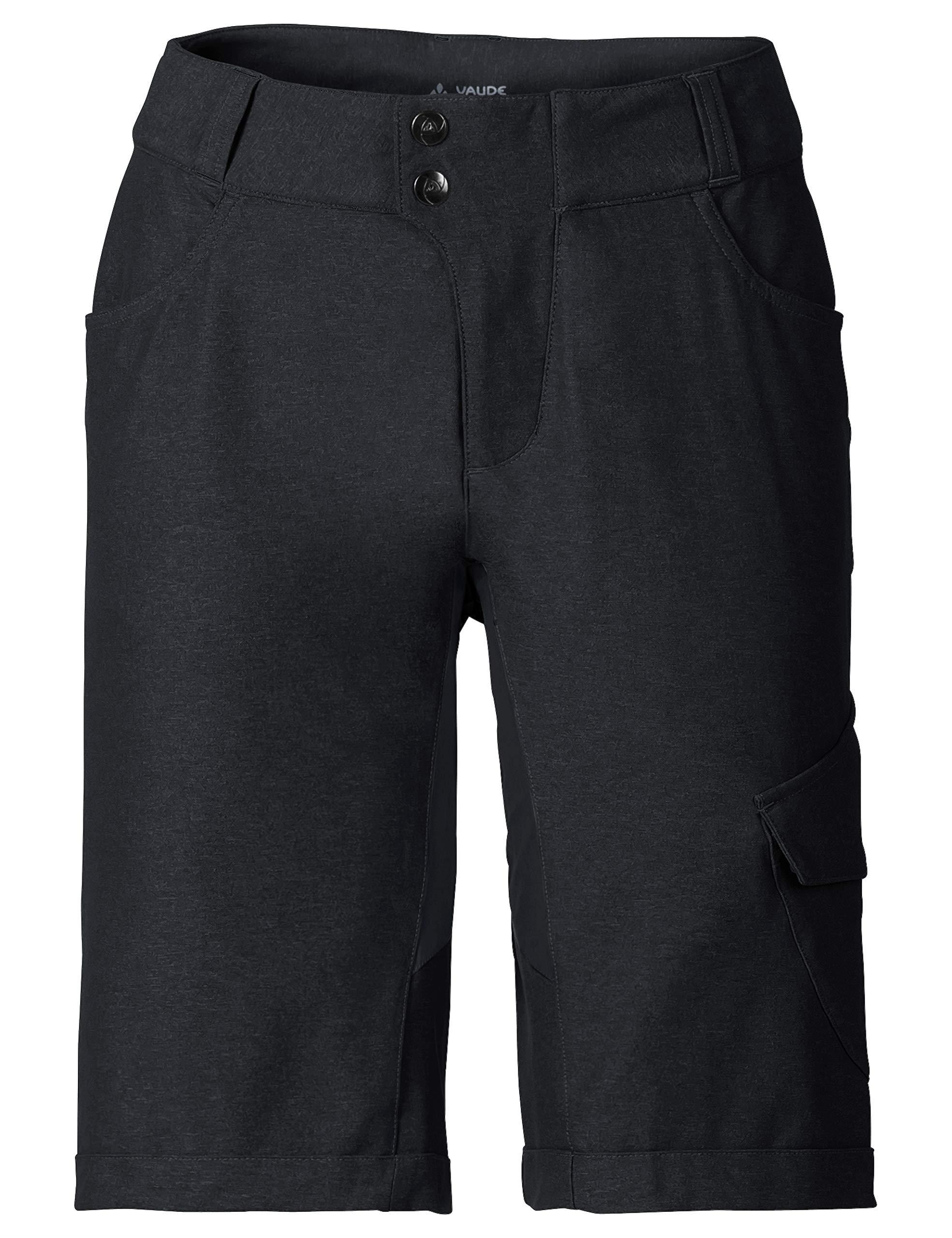 VAUDE Damen Hose Tremalzo Shorts II, black, 36, 405070100360