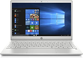 HP Pavilion 13-inch Light and Thin Laptop Intel Core i5-8265U Processor, 8 GB SDRAM Memory, 256 GB Solid-State Drive, Windows 10 (13-an0010nr, Mineral Silver)