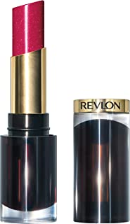 Revlon Super Lustrous Glass Shine Lipstick, Moisturizing Lipstick with Aloe and Rose Quartz in Pink, 017 Love Is On, 0.15 oz