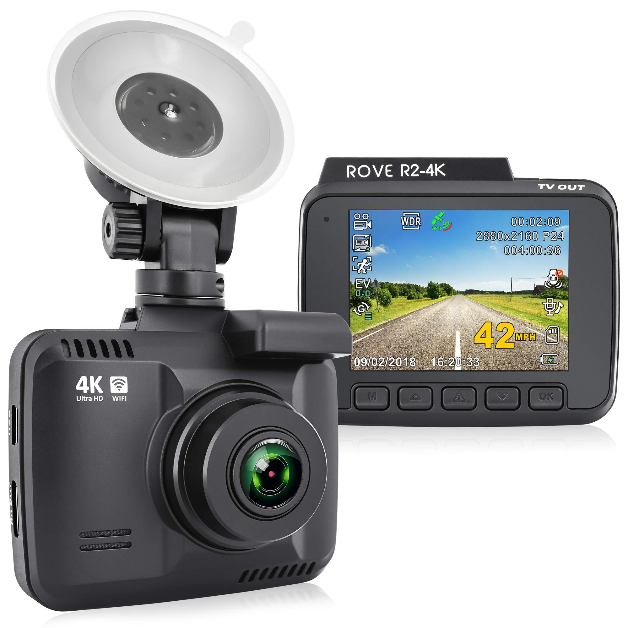 R2 4K Dashboard Camera Recorder Vision