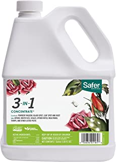 Safer Brand 3-in-1 Garden Fungicide 1 Gallon